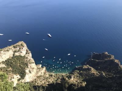 ナポリ→カプリ島→ポジターノ→ナポリへ姉妹旅①