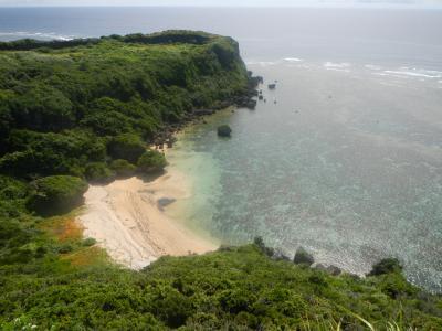 真夏の沖縄・・ビーチ満喫+αの旅♪3日目・・果報バンタに癒され帰宅。