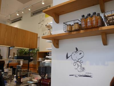 SNOOPY MUSEUM TOKYO & PEANUTS cafe &TDL&TDSちょこっと築地と鎌倉2日目
