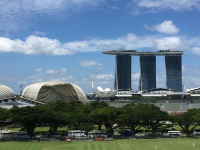 新千歳から香港経由でシンガポール1人旅