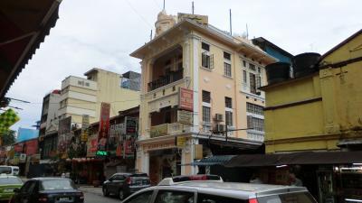 マレーシアのコロニアルホテル