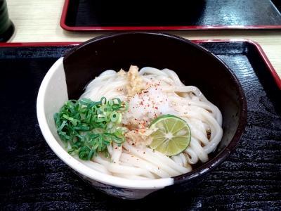 1泊2日弾丸小豆島 ① 高松でうどん食べ比べ