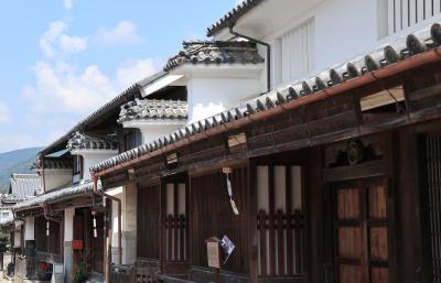 初めての四国旅行はピンポイント (1) 時間が止まったような脇町「うだつの町並み」