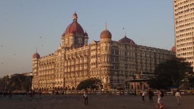 The Taj Mahal Palace in Mumbai