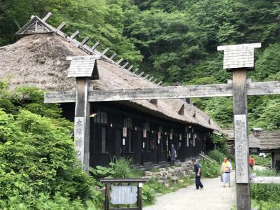 秋田・岩手の秘湯と山歩き(1日目)