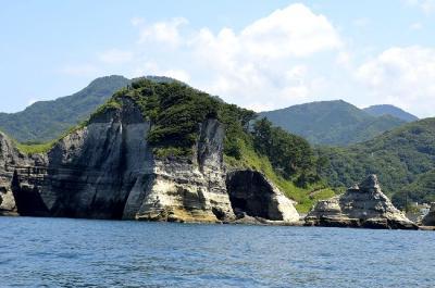 堂ヶ島を遊覧船で NO8