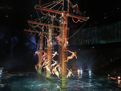 【香港&マカオ☆5】大迫力の水上ショー~帰国