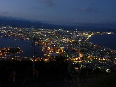 新幹線で函館旅行