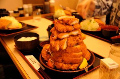 日本一のデカ盛りとんかつ とんまさへ挑む 【奈良県 大和郡山市】