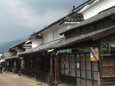 徳島、見どころ一泊旅①うだつの町並み