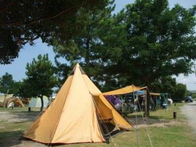 大淀西海岸ムーンビーチキャンプ場 de グルキャン