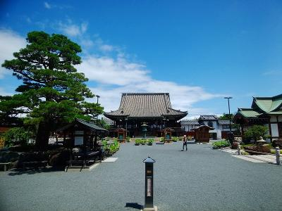 茨木市総持寺で法要。