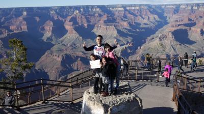 家族5人 アメリカ大陸横断 モーターホームの旅 夫婦・子供3人(9歳7歳5歳)Vol.3