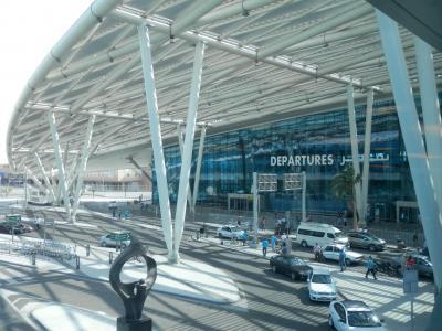 2017JULカイロ修行再び! 5アリタリア航空のビジネスクラスでカイロからローマへ、新しいカイロ空港ターミナル2を初体験してきました。