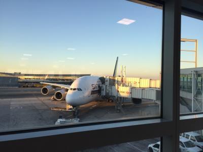 シンガポール航空 25便 JFK/FRA  ビジネスクラス搭乗記  夫婦で初ヨーロッパ旅行記 その3