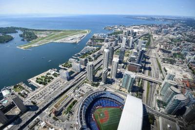 ANA特典ビジネスマイルで行くカナダアメリカ 野球サッカーテニス観戦