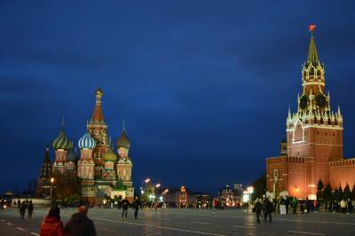 行く度に好きになるロシア