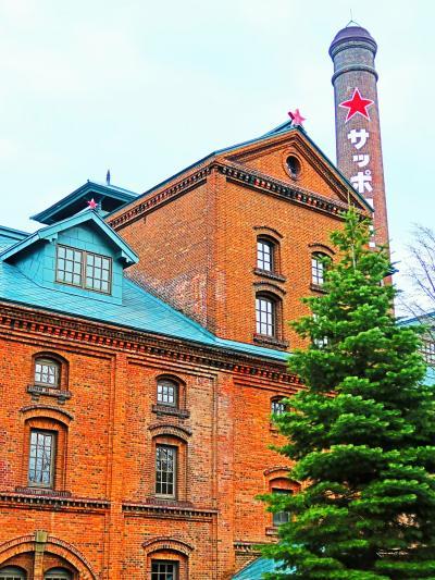 札幌-12 サッポロビール園・ビール博物館見学 ☆復刻ビールと飲み比べも