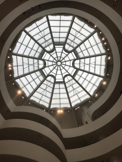 ニューヨーク旅行6・6/23(金)グッゲンハイム美術館&シェイクシャック&プラザフードコートでショッピング&おしゃれレストランディナー