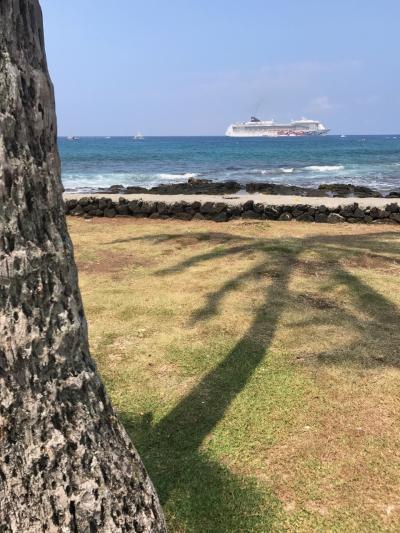 ハワイ4島周遊クルーズ「プライド・オブ・アメリカ」乗船記=5日目ハワイ島カイルアコナ=