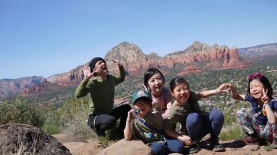 家族5人 アメリカ大陸横断 モーターホームの旅 夫婦・子供3人(9歳7歳5歳)Vol.4
