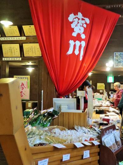 小樽-5 田中酒造 亀甲蔵 で試飲・買い物 ☆造り酒屋の工場見学も