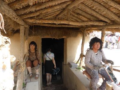 3歳娘を連れてマイナーな寧夏回族自治区・銀川5日間の旅3-スケール大きすぎな水洞溝遺址