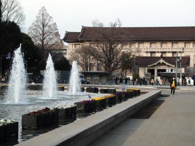 上野のお山、御朱印巡りと国立博物館