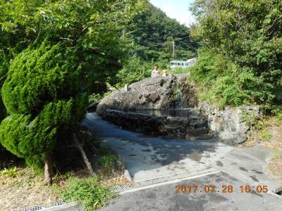 アドレス110の旅 伊豆と天城で野宿