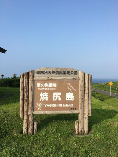 夏の焼尻島