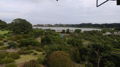 水戸出張の帰りに真夏の「偕楽園」へ