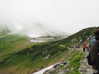 名峰立山を目指せ! 2日目 真夏の越冬隊