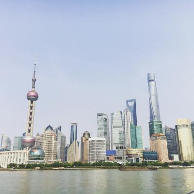 猛暑の上海