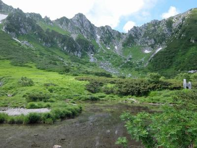 長野の旅 千畳敷カールと木曽駒ヶ岳