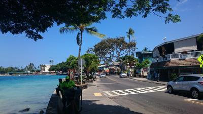 2017年サマーバケーション、今年は8度目のハワイ島10日間!!(*^-^*)*7日目パート1!愛娘はコナ空港から帰国の途へ、残された二人はコナの街を散策とショッピングo(^-^)o!!【完成版】