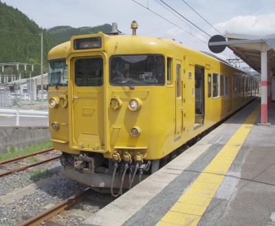 2017年4月 弾丸三江線への旅(1日目-2)~伯備線の普通列車に乗って