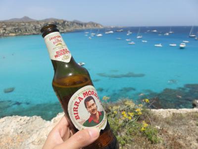 ローマからシチリアへ周遊自由旅行⑤ 初めてのファヴィニャーナ島 Cala Rossa