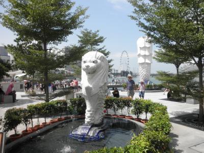 毎年恒例のシンガポール&初めてのタイ・バンコク旅行1、シンガ定番場所の詣編