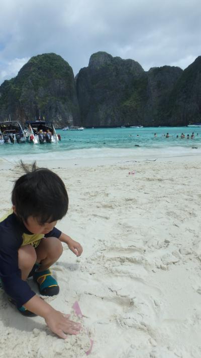 初☆3歳4か月の息子とプーケット2人旅。母子海外旅行②