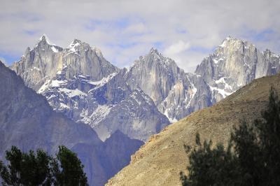 ヒマラヤ西端の地を行く 3カプルー渓谷へ、カプルーパレス