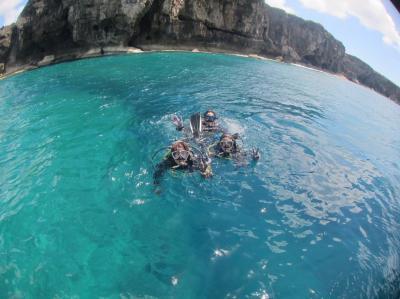 今年も沖縄へダイビング旅行 恩納村・残波岬でダイビング