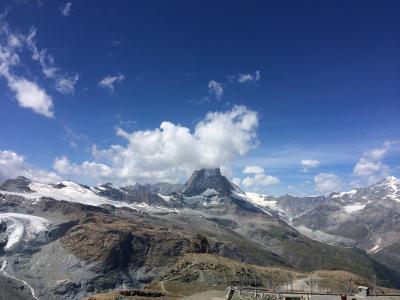 夏のスイス絶景を巡る旅(Vol.2 Zermatt・Gornergrat)