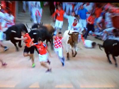 スペイン・ポルトガル、じっくり女一人旅(2) 番外のパンプローナの牛追い祭り実況中継