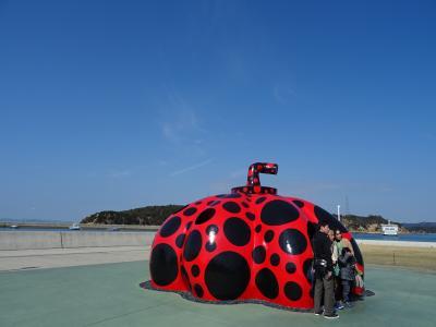 直島アートと剣山 ーアウトドア好きの瀬戸内巡り(1)
