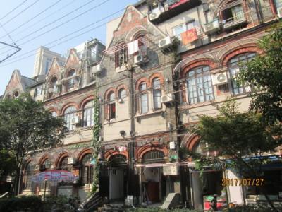 上海の優秀歴史建築・ユダヤ人街・舟山路、霍山路