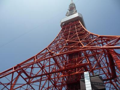 台風をかわしながら東京へ(2)「はとバス」で都内を巡りました。