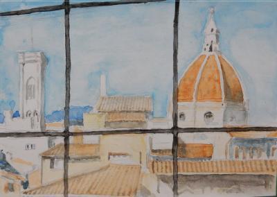 油断も空きもあるから狙われる フィレンツェ③ イタリア旅行11