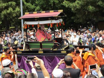京都巡り、葵祭