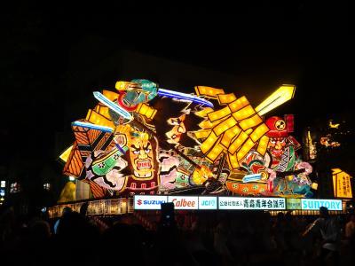 いざ東北四大祭りのうち、二大祭りへ。その1:人生初のねぶた祭り