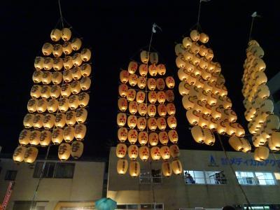 いざ東北四大祭りのうち、二大祭り。その2:人生初の竿燈まつり(1日目)